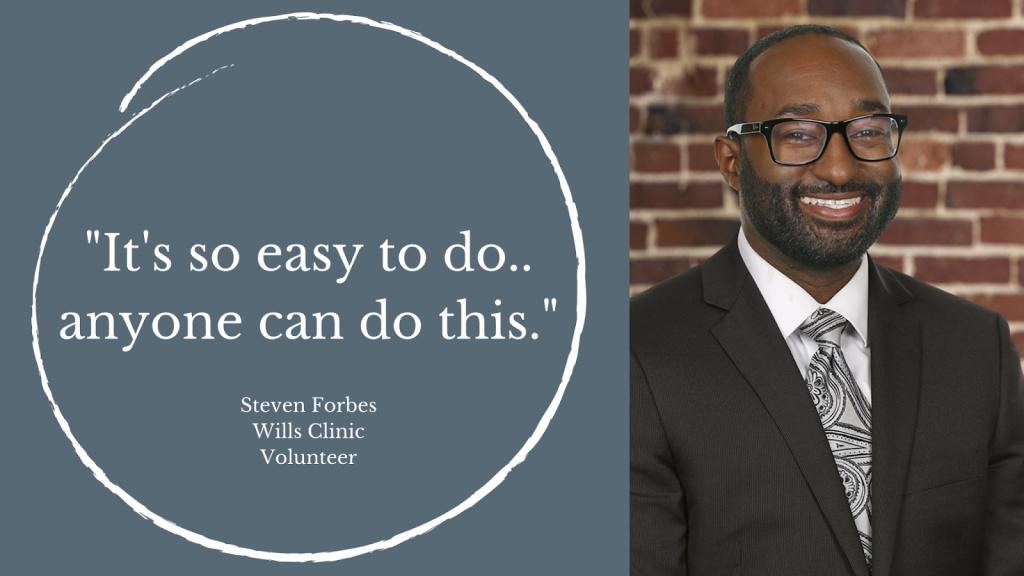 Wills Clinic Testimonial